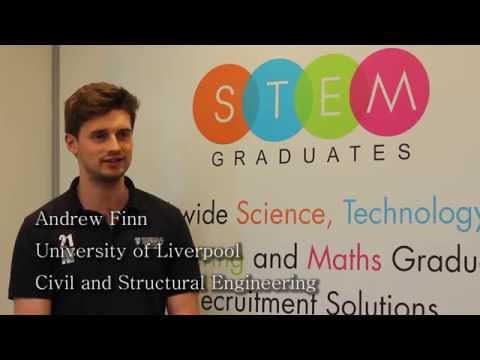 Andrew: Civil and Structural Engineering student relates his degree course to his jobs search