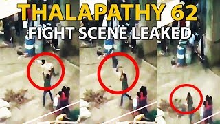 Thalapathy 62 Fight Scene Video Leaked   Vijay 62 Leaked   First look   Teaser   Official