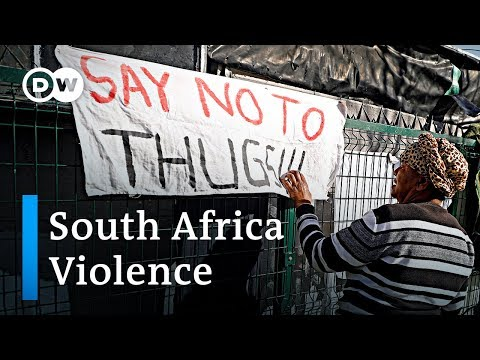 South Africa trapped in crime & violence | DW News