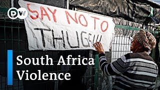 South Africa trapped in crime amp violence  DW News