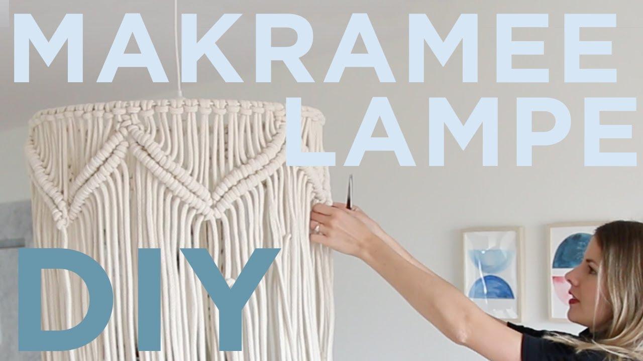 Diy Makramee Lampe Diy Hack Mit Ikea Lampenschirm