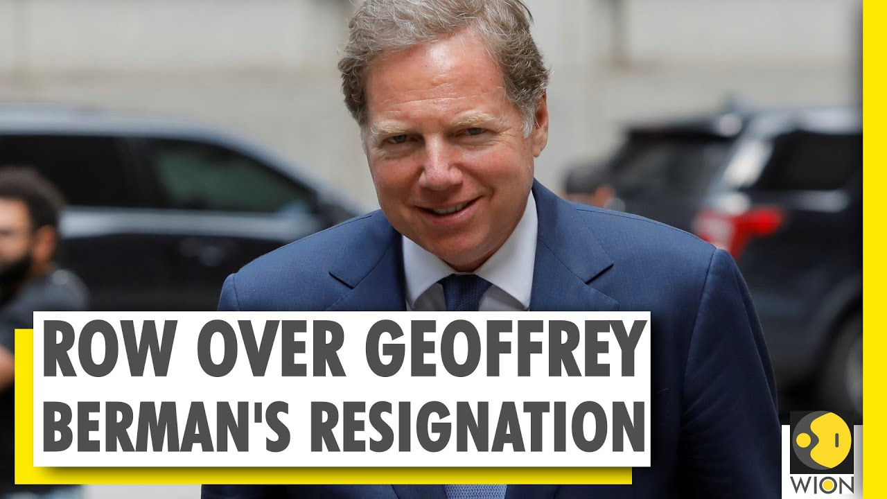 Geoffrey Berman, the US attorney refusing to step down