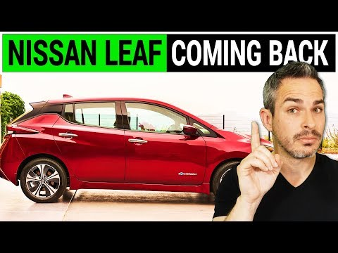 The New Nissan Leaf with the New Price and Range is Hot in Europe
