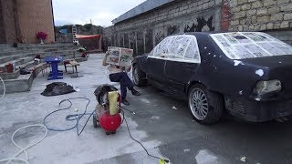 Восстанавливаем Mercedes W140. Подготовили К Полной Покраске.
