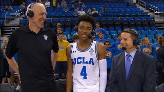 UCLA's Jaylen Hands on dunking over parents: 'My mom wasn't trying to do it'
