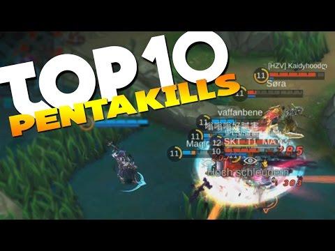 Mobile Legends Top 10 Plays #2 (Top 10 PentaKills)