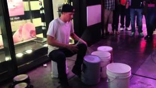 Best Street Bucket Drummer - Matthew Pretty