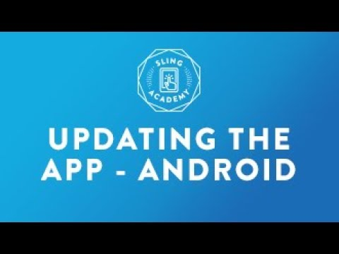 SLING TV: Update App On Android