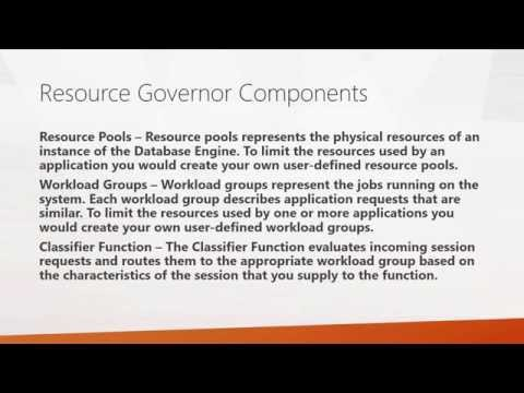 How to Manage SQL Server I/O with the Resource Governor