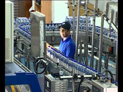 Taza Water Bottling Plant Youtube