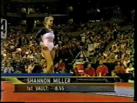 Shannon Miller Vault 2000 Us Olympic Trials Day 2 Youtube