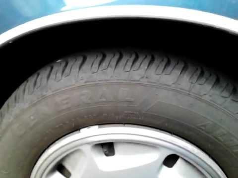 Noise near left front tire