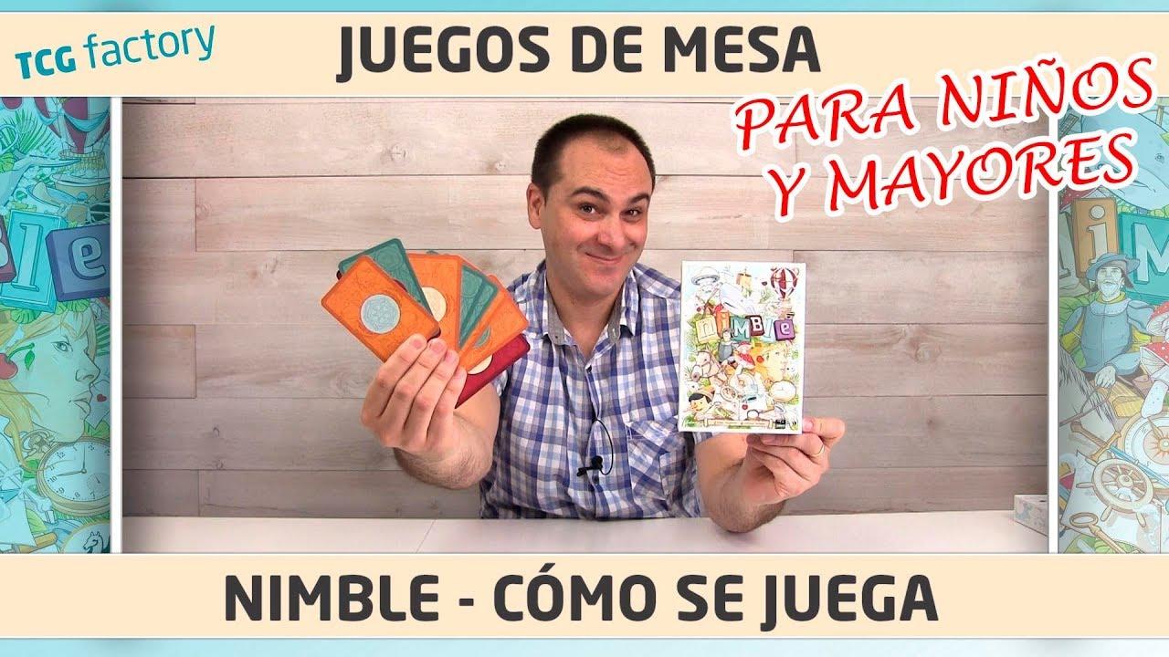 Nimble Juego De Cartas Para Ninos Como Se Juega Youtube