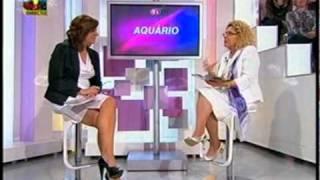 Maria Helena - Previsões de 2011 para Aquário - Tardes da Julia