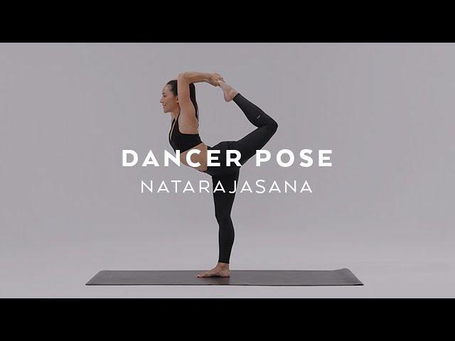 How To Do Dancer Pose Natarajasana Tutorial With Briohny Smyth Youtube