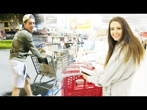 FIRST TIME GROCERY SHOPPING AS HUSBAND & WIFE