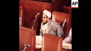 SYND 22 8 80 MAJLIS MEETS TO DISCUSS THE FATE OF OIL MINISTER ALI AKBAR MOINFAR