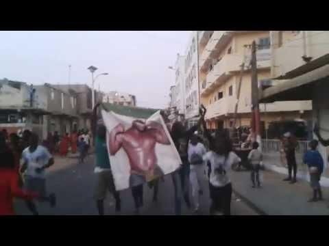 L'ambiance à Pikine après la victoire de Eumeu Sène