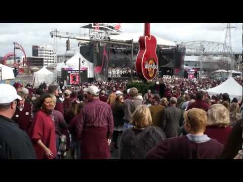 Mississippi State University Pep Rally  2011 Music City Bowl