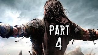 Middle Earth Shadow of Mordor Walkthrough Gameplay Part 4 - Ratbag (PS4)