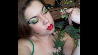Villains Collab-Poison Ivy Inspired Look
