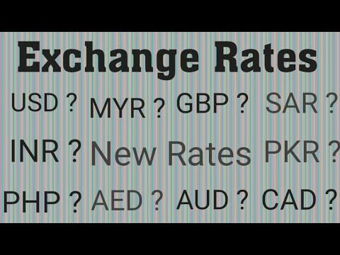 Today New Exchange Rates||Today Dollar Rate In Pakistan||Euro Rate In Pakistan Today