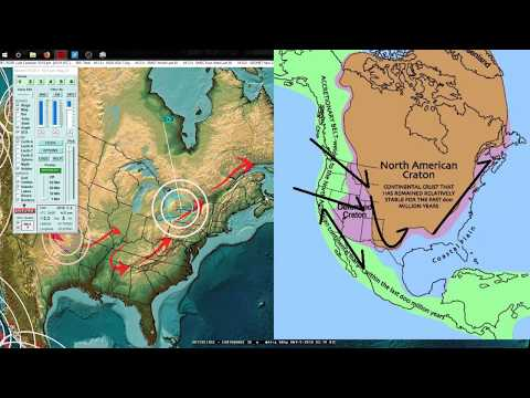 a research on earthquake patterns in the united states Assessing earthquake hazard map performance for natural and  central and eastern united states seismological research  the spatial patterns of.