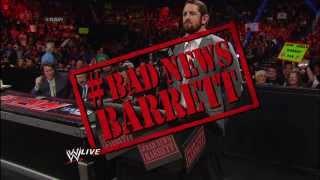 Bad News Barrett makes his debut: Raw, Dec. 2, 2013