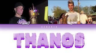 Larray - 'Thanos Ft. Ravon  (Color Coded Lyrics)