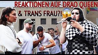 REAKTIONEN AUF DRAQ QUEEN UND TRANS FRAU?!😱🥶| ONUR