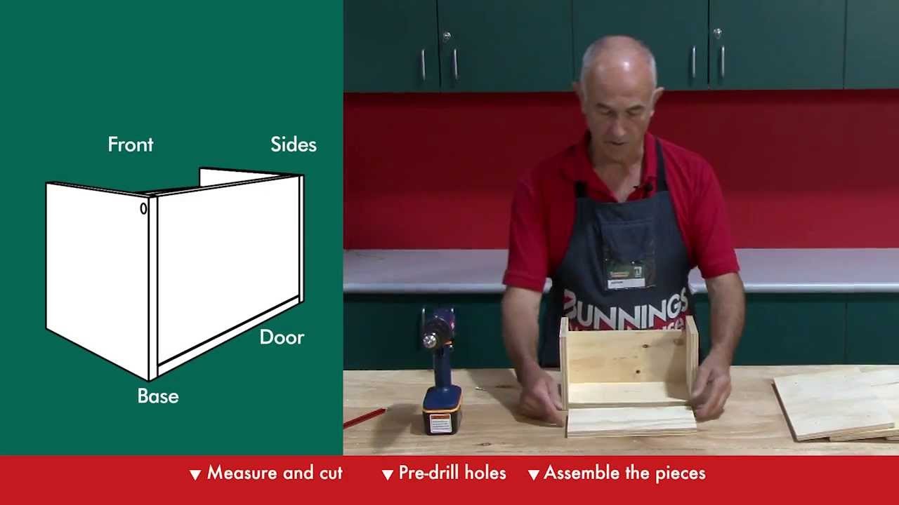 How to build a letterbox diy at bunnings youtube solutioingenieria Image collections