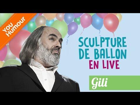 GILI: Sculpture de ballon en live