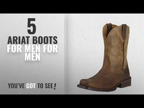5c3d525283d Top 10 Ariat Boots For Men [ Winter 2018 ]: Ariat Men's Rambler Wide ...