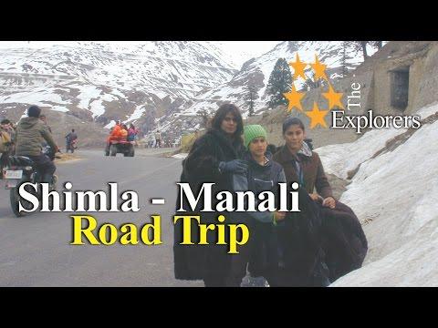 SHIMLA to MANALI Road Trip