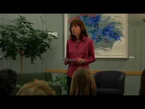 Regina Brett reads God Never Blinks
