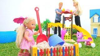 Video e giochi per bambini. Una passeggiata al parco con Barbie. Nuovi episodi in italiano