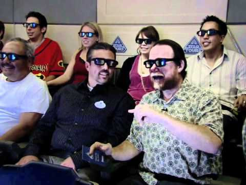 Star Tours 3D Ride-Through Interview with WDI
