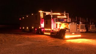 """Trucking """" Into The Night """" Vlog"""