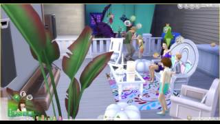 The Sims 4 Movie Hangout Stuff Pack: Watching a movie 1