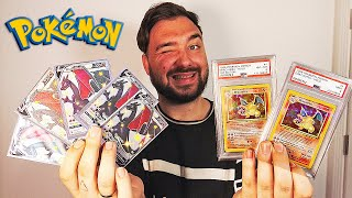 MES CARTES POKEMON DRACAUFEU SET DE BASE ULTRA-RARE ULTIME !