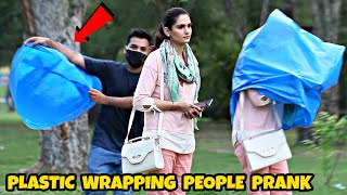 Plastic Wrapping People Prank | Part 2 | Prank In Pakistan @That Was Crazy