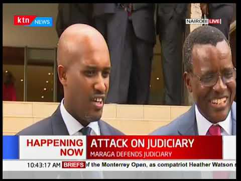 CJ David Maraga opens a conference on Justice-News Centre