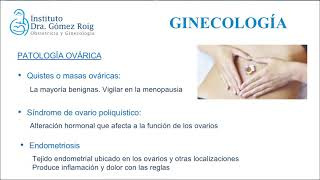 Ginecología ➤ Instituto Dra. Gómez Roig