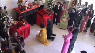 Vietnamese Wedding Tea Ceremony (with Explanations)