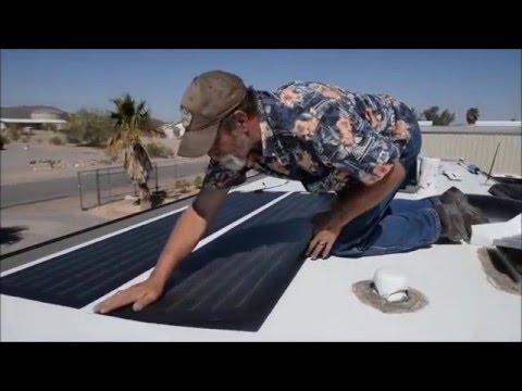 EEZ RV PRODUCTS SOLAR INSTALL - CHRIS & G TRAVELS RV