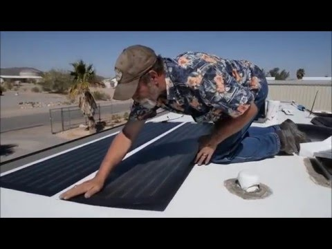 EEZ RV PRODUCTS SOLAR INSTALL - CHRIS & G TRAVELS RV