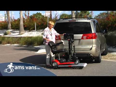 Harmar AL100 Universal Scooter & Wheelchair Lift | AMS Vans Mobility Equipment
