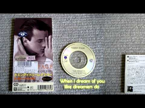 TommyPage - When I dream of you - With Lyrics