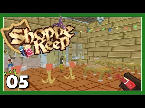 Let's Play Shoppe Keep - Money And Murder...