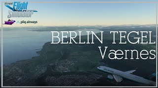 Spectacular Approach | A32NX | Microsoft Flight Simulator | Berlin Tegel to Værnes 4K